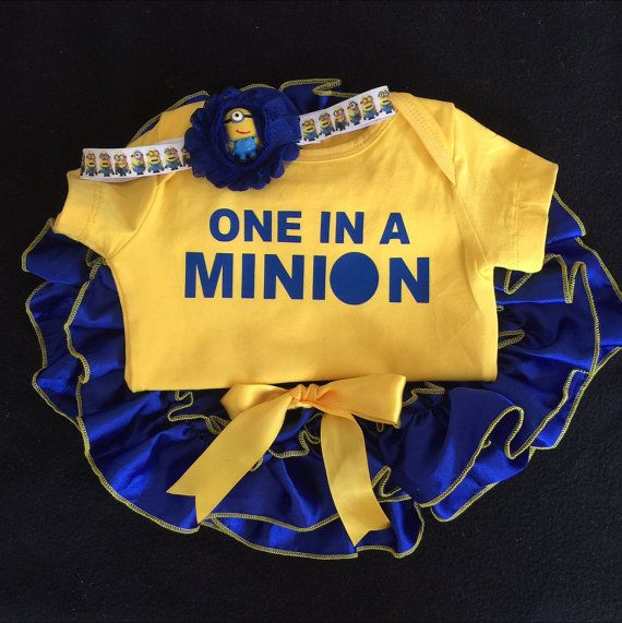 Take home outfit/Newborn Minion outfit/First by BabyTrendzz