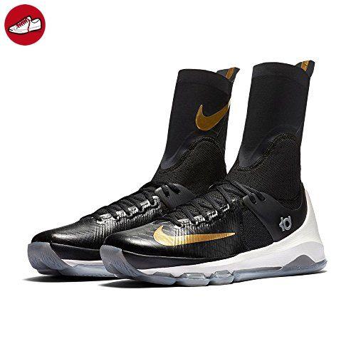 Nike Herren Kd 8 Elite Basketballschuhe, Black (Schwarz / Metallic Gold-Segel), 44 1/2 EU - Nike schuhe (*Partner-Link)