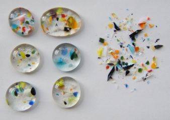 Image  tips for using tiny bits of scrap glass