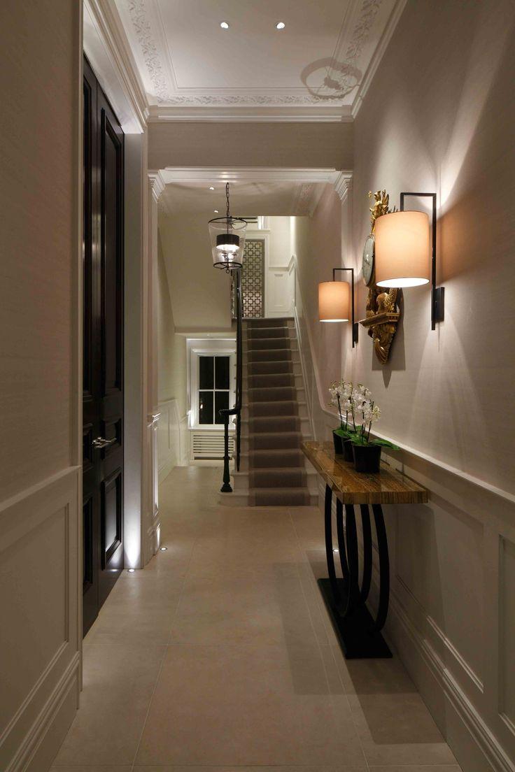 Unique Hallway Floor Lighting