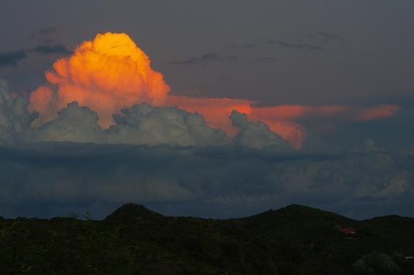 Cruz de Piedra Sunset