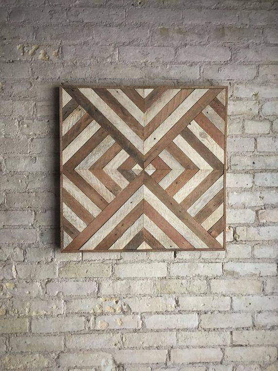 Wood Wall Art Decor best 25+ reclaimed wood wall art ideas on pinterest | farmhouse