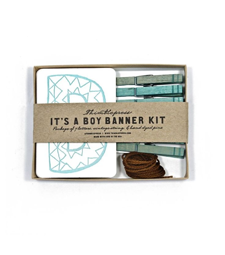 73 best gender reveal parties and ideas images on pinterest its a boy letterpress diy banner kit solutioingenieria Image collections