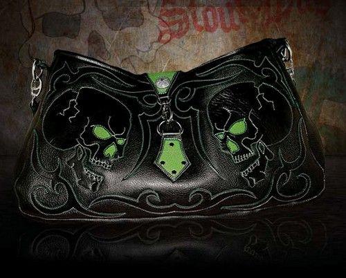 Skull purse. Love this
