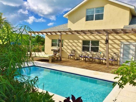 Lovely Grace Bay Home, Turks & Caicos  Introducing 33 June Plum Street in the heart of Grace Bay, listing price $595,000.33 June Plum Street - Grace Bay.  #gracebay #singlefamily #pool #luxury #tci