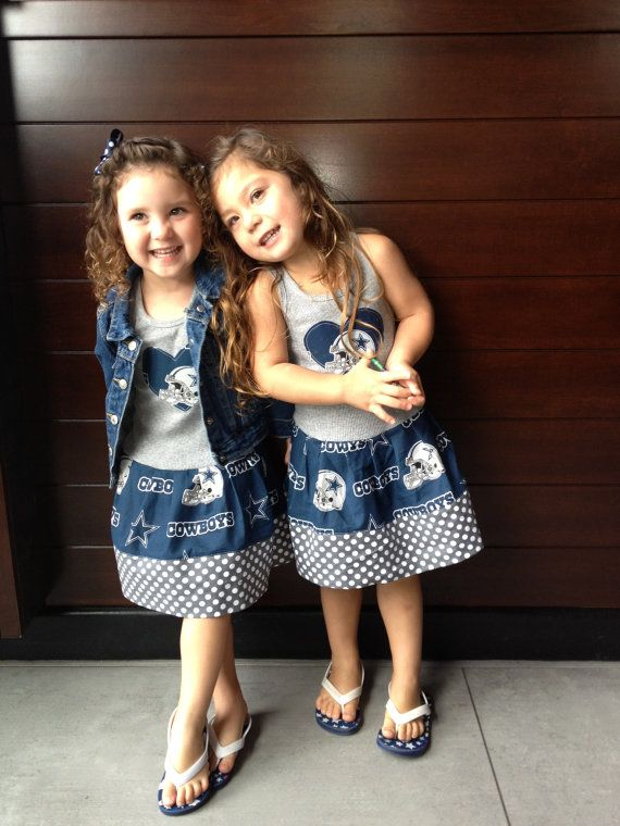 Dallas Cowboys Dress. All NFL and College by GraceMadisonDesigns