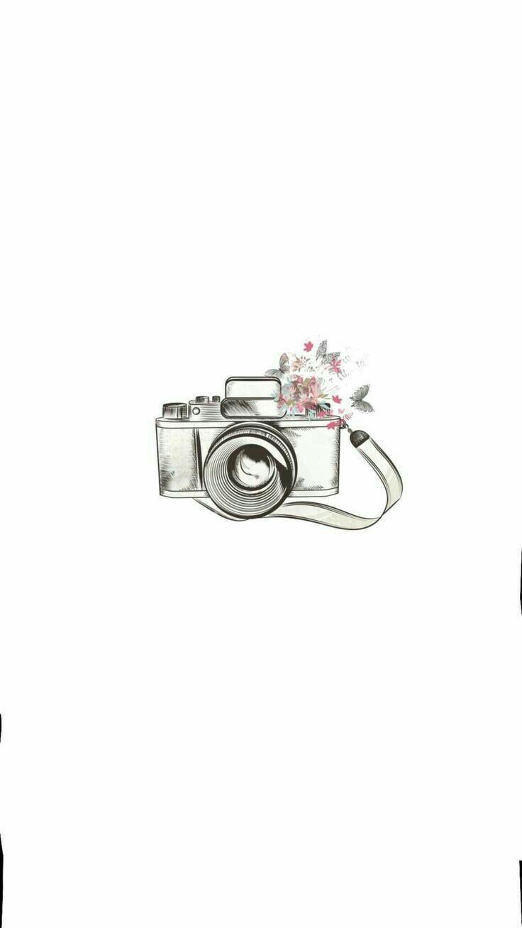 White Camera Instagram Highlight Icons Camera Tattoo White Camera