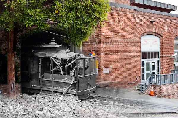 Composite Photos of San Francisco's 1906 Earthquake and the City Today