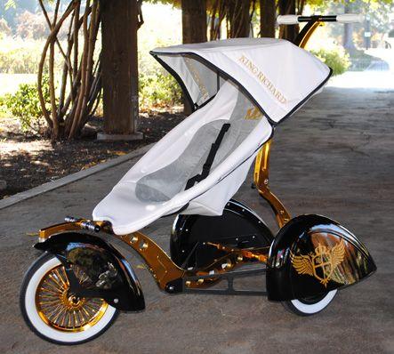 the roddler, une poussette ultra design personnalisable !