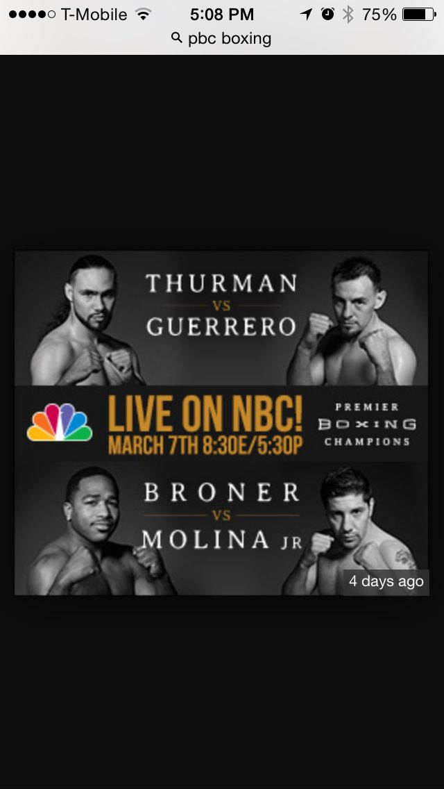 The best Night of boxing on regular TV in 30 years!!! On NBC 8:30 EST (Don't miss this !!!) These are big time fights!  #NFL #MLB #NHL #NBA #NCAAB #NCAAF #LasVegas #Football #Basketball #Baseball #Hockey #SBA  #Business #Entrepreneur #Investing    #Dj  #Networking #Analytics #HipHop #MYTH7  #TBE #sportsbetting  #AtlanticCity  #Bet #Boxing