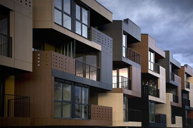 awesome exterior design of flats apartments design - stylendesigns