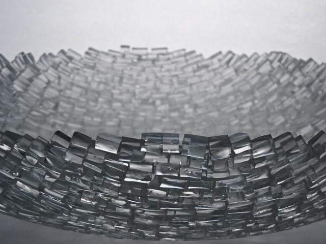 Clear Tile Bowl - Thaddeus Wolfe