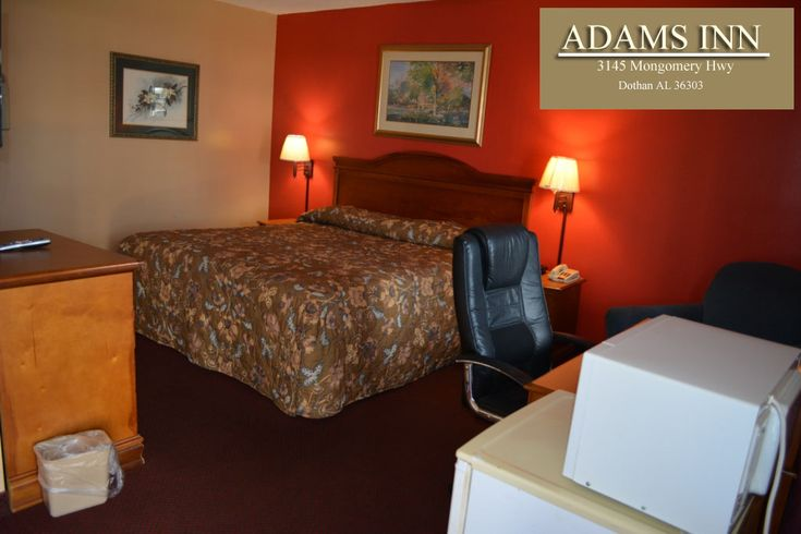 Book the Best hotels in Dothan with great saving and affordable Hotels. Our Great services : Air Conditioning (In Room), Refrigerato, Telephone, Microwave Over, Free Local Calls, Washer and Dryer etc at Adamsinndothan.com