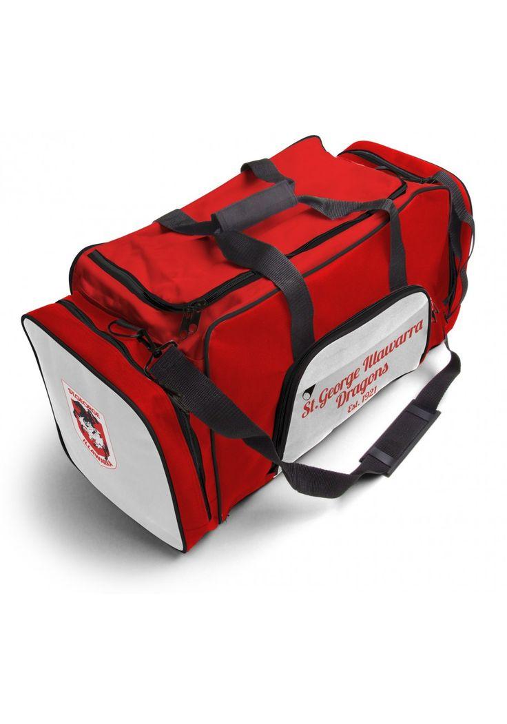 St George Dragons NRL Team Logo Two Tone Sports Training Bag