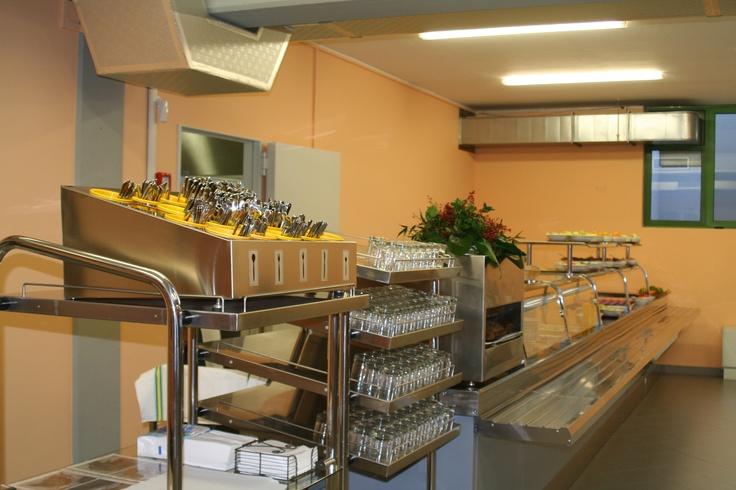 Il servizio mensa del Centro Servizi Formativi #Enaip FVG di Pasian di Prato e Sede Regionale