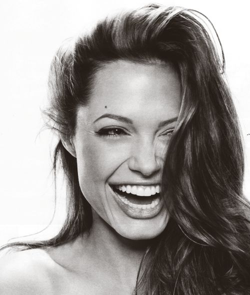 In this picture I really like how her teeth look. I must like long teeth.