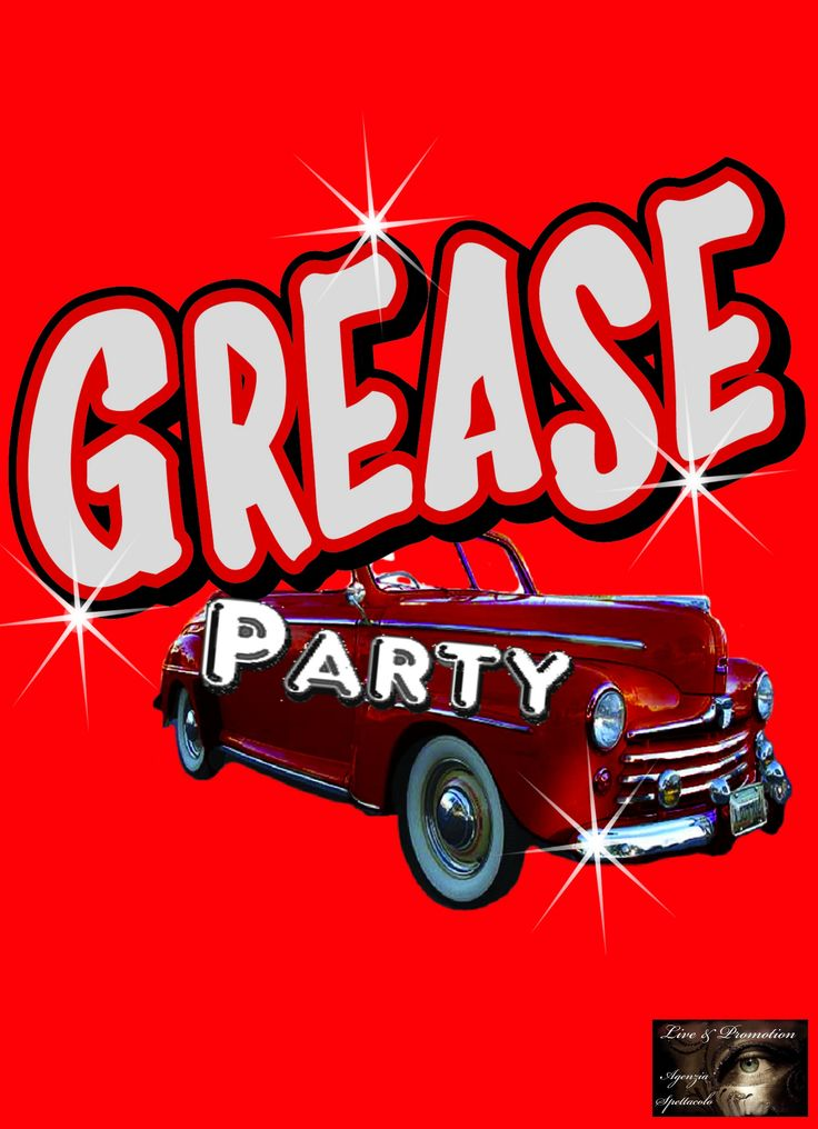 Grease Party !!! Vuoi fare parte delle Pink Lady o dei T-Birds ?