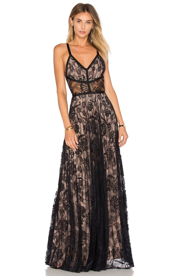 Alexis Isabella Gown in Black Lace | REVOLVE