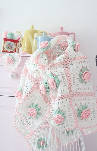 Granny Blanket / Rosendecke | Flickr - Photo Sharing!