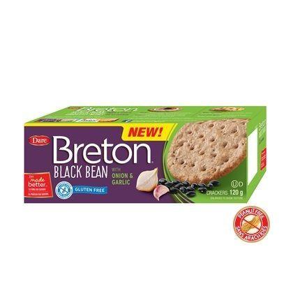 Dare Breton Bean Crackers Assorted Display (36x4.2 OZ)