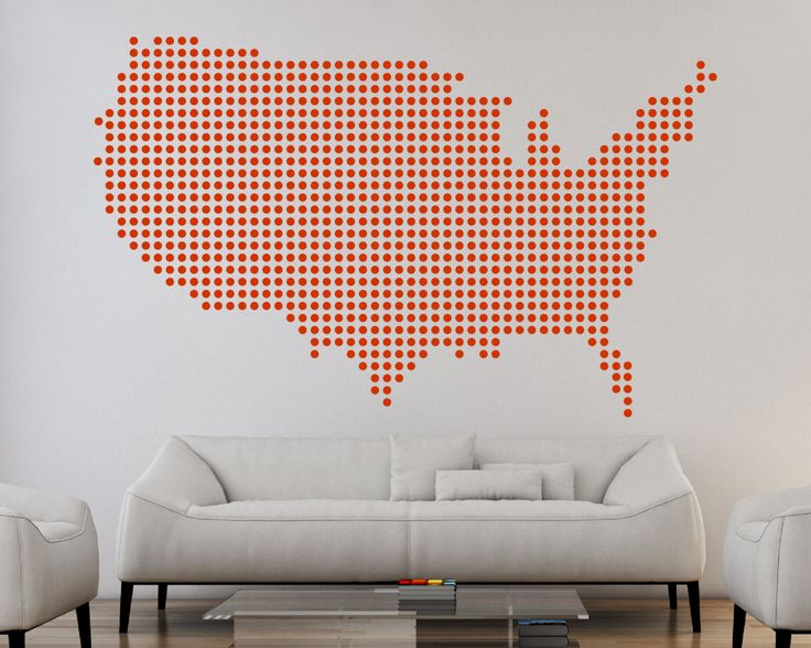 10 best world map images on Pinterest Wall decal, Wall decals and - fresh world map outline decal