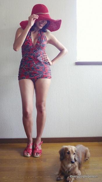 DIY Bombshell Swimsuit