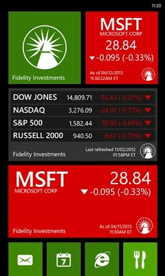 Fidelity Investments app comes to Windows Phone.