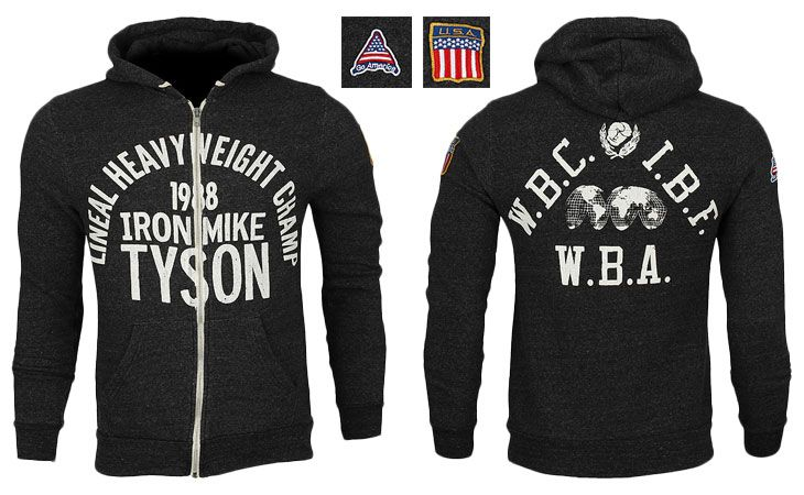 Roots of Fight Iron Mike Tyson 1988 Hoodie - Black at http://www.fighterstyle.com/roots-of-fight-iron-mike-tyson-1988-hoodie/