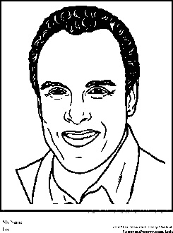 harry belafonte coloring pages black history month