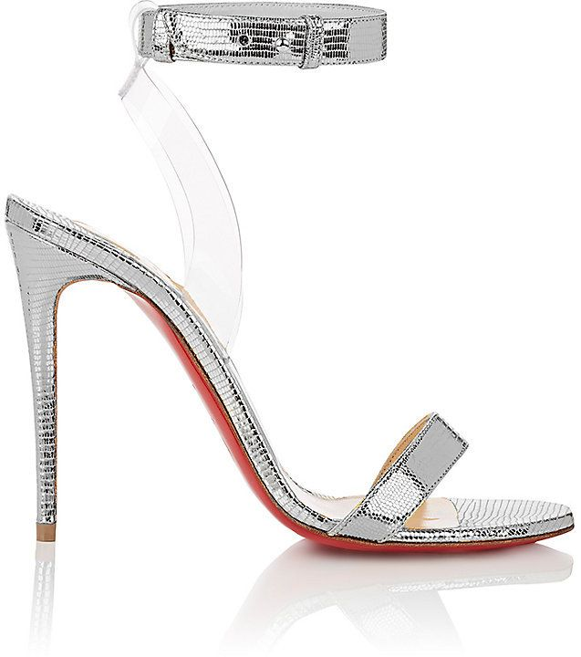 372e71a1d71 Silver Louboutins! Perfect for wedding or bride- Christian Louboutin ...