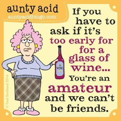 Image result for aunty acid wine jokes