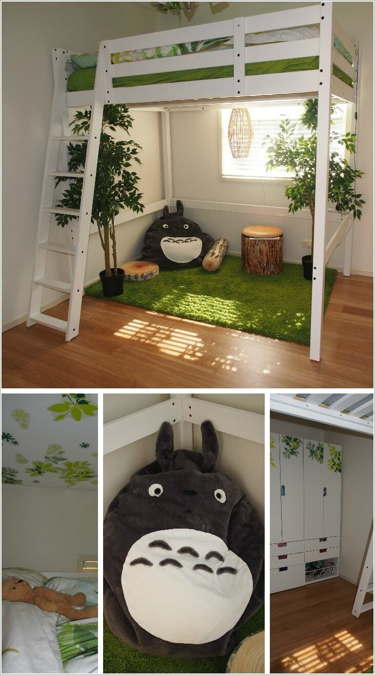 50++ Forest themed childrens bedroom ideas