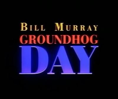 Groundhog Day is a fantasy comedy film released in 1993.  It is directed by Harold Ramis, starring Bill Murray, Andie MacDowell, Chris Elliott, Stephen Tobolowsky and Brian Doyle-Murray, and features Punxsutawney Phil as the eponymous groundhog.