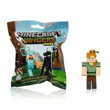 Minecraft Hanger Keychain (1Pc Random Unopened Pack) - Series 2