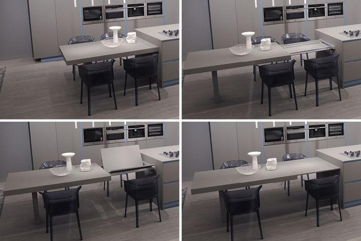 Famiglia allargata tavolo allungabile Ak06 Ariital Cucine מטבחי אריטל איטליה