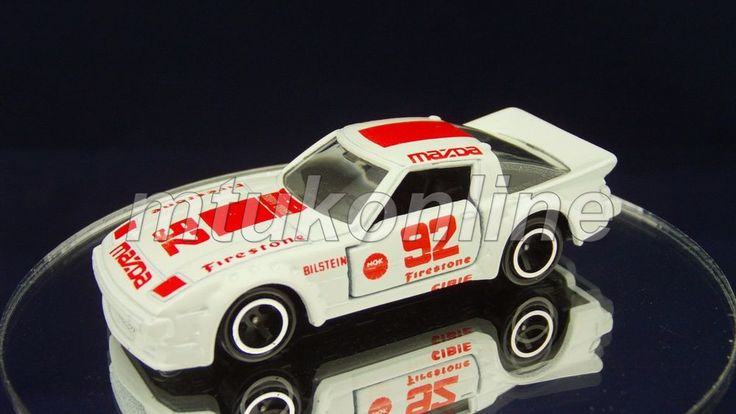 TOMICA 074C MAZDA SAVANNA RX-7 RACING   1/60   JAPAN   074C-11   #92 FIRESTONE
