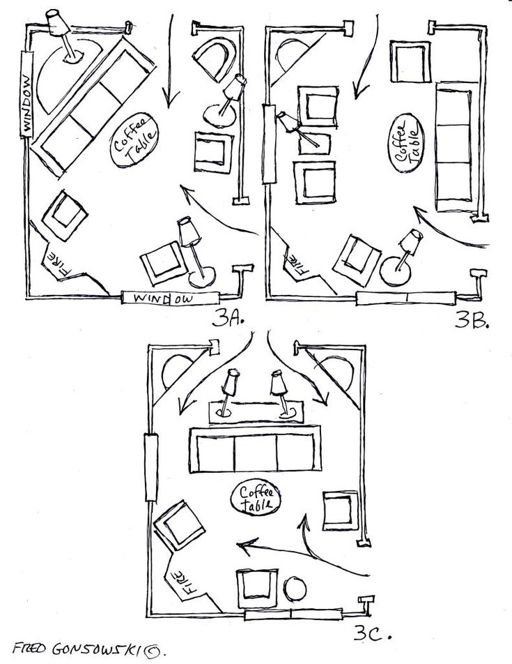 Arranging Furniture Around A Fireplace In The Corner Of The Room Living Rooms And Great Rooms