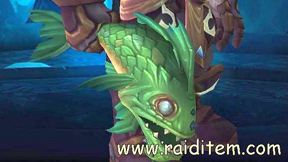New World Of Warcraft Weapon Floppy Fish In Bfa Beta Raiditem Com World Of Warcraft Warcraft New World