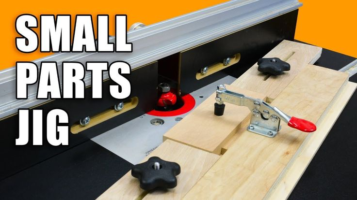 Small Parts Holding Router Jig for your Router Table.