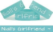 Niall's Girlfriend One Direction Niall.Horan Fan Wristband - $6.88  Here you go @Stacy Lynn