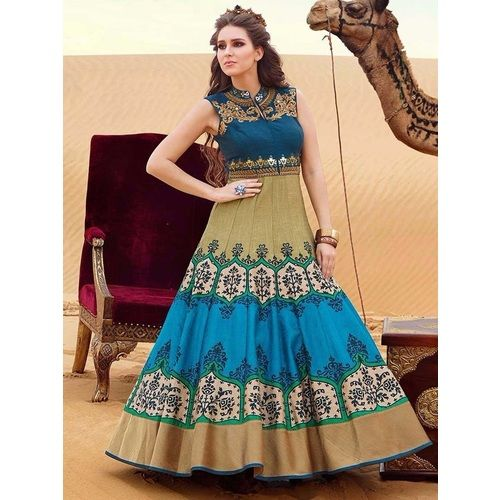 Shop Designer Anarkali Gown By Fabkaz by Fabkaz online. Largest collection of Latest Dresses, Gowns and Kaftans online. ✻ 100% Genuine Products ✻ Easy Returns ✻ Timely Delivery