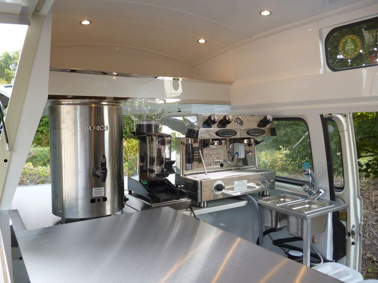 VW Coffee Van - interior