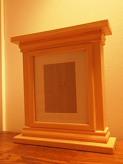 wood molding picture frame tutorial