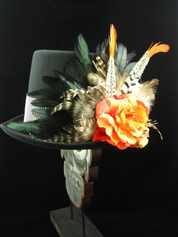 Voodoo 2 Top Hat Day of the Dead/Halloween/Mardi by EffigyMasks