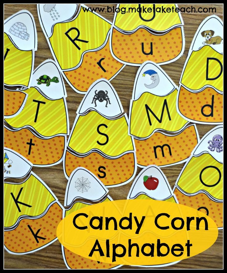Fun halloween themed activity for learning letters and sounds. Great for centers!