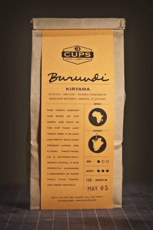 coffee packaging by Matt Lawson #illustrazione #grafica #poster #package