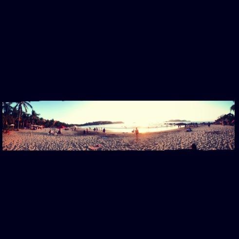 Panoramic beaches