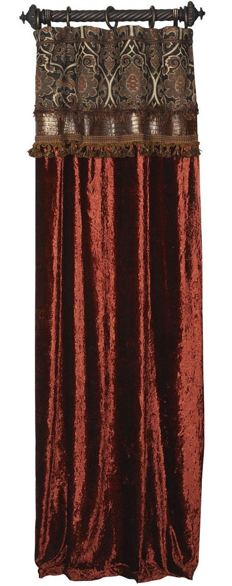 Reilly-Chance Collection Luxury Curtains.  ALL STYLES AVAILABLE IN ALL REILLY-CHANCE FABRICS. Place your order today!