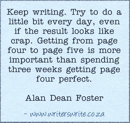Quotable - Alan Dean Foster - Writers Write Creative Blog