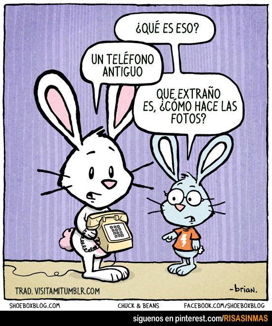 Un teléfono antiguo. ¿Y cómo hace las fotos? :-) www.spanish-school-herradura.com/online-spanish